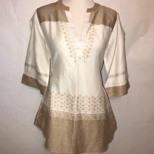 Soft Surroundings Cotton Tunic